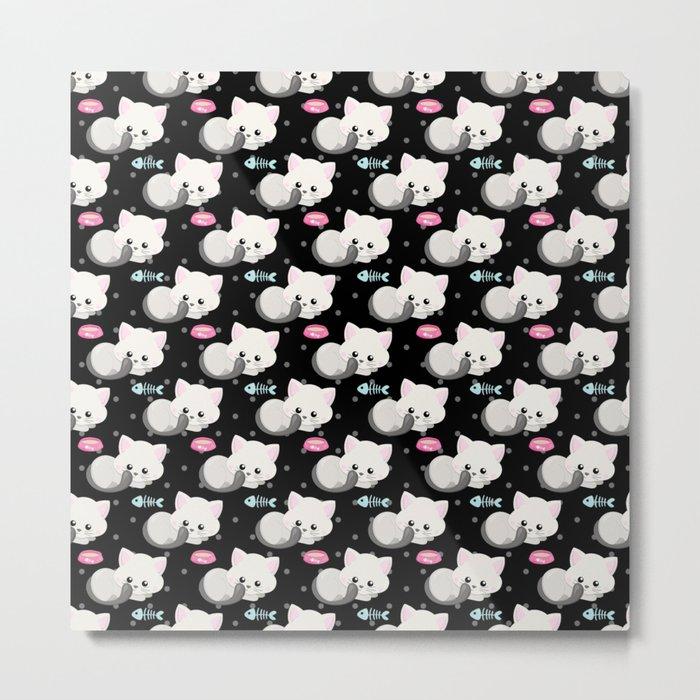 Cute Cat #1 Metal Print