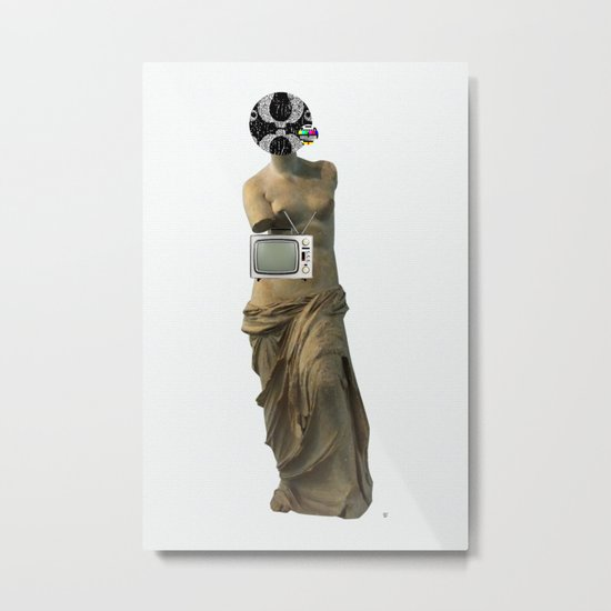Statue Life TV · Color Metal Print