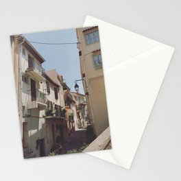 Back Alley Riches High Atop the French Riviera Stationery Cards