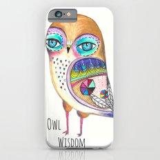 Owl Wisdom Slim Case iPhone 6s