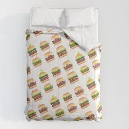 Burger Abundance Comforters