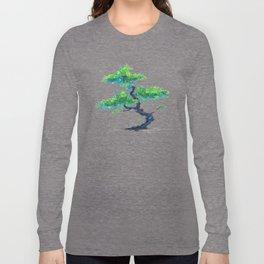 Blue Bonsai Long Sleeve T-shirt