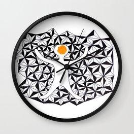 The Stupid Man Wall Clock
