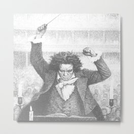 Beethoven 250th anniversary Metal Print