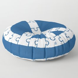 Peace By Peace Floor Pillow