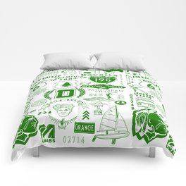 Dartmouth Massachusetts Print Comforters