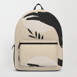 Tropical Girl /Abstract Minimal 8 Backpack