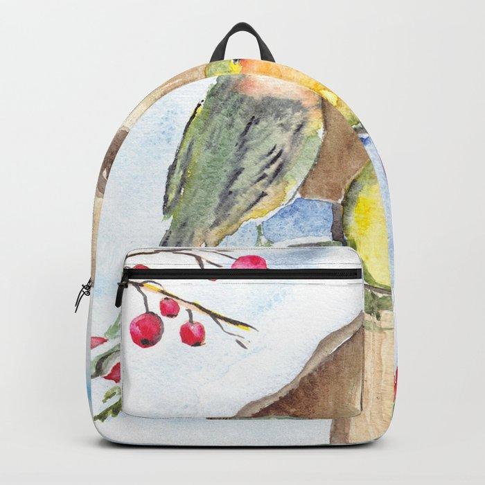Winter animal #16 Backpack