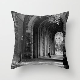 Ft. Tryon Tunnel Throw Pillow