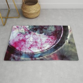 Depression + An Oncoming Cold = Art Rug