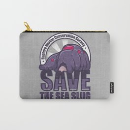 Save The Sea Slug Carry-All Pouch