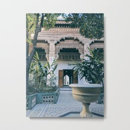 Palace Vibes Metal Print