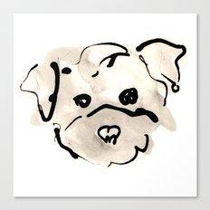 Bichon Frise Canvas Print