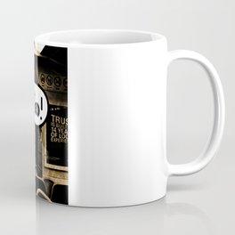 ALONE ON A NIGHT TRAIN Coffee Mug