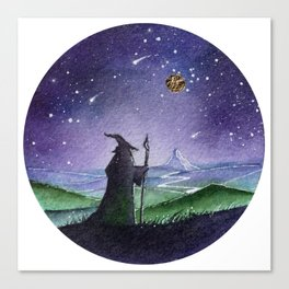 The Gray Wizard Canvas Print