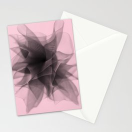 Black bow 2 Stationery Cards