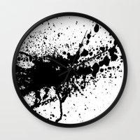 splash Wall Clocks featuring Splash by eARTh