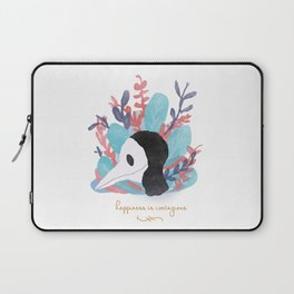Happiness is Contagious Laptop Sleeve