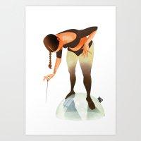 bubble Art Prints featuring Bubble by Francesca D'Ottavi ArtPrints-Store