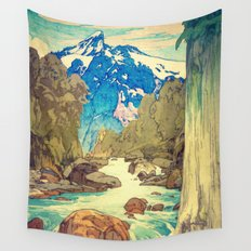 The Walk to Hokodoyama Wall Tapestry