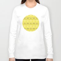 glasses Long Sleeve T-shirts featuring Glasses by C Designz