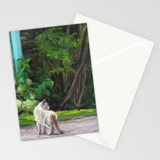 What the Cat Sees By the Hot Glass Studio Hydrangea Stationery Cards