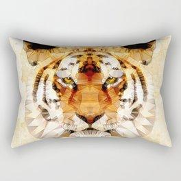 abstract tiger Rectangular Pillow