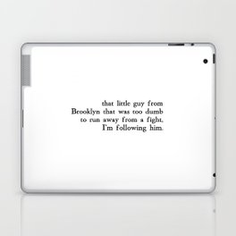 That Little Guy from Brooklyn Laptop & iPad Skin