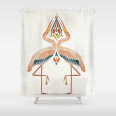 couple of birds Shower Curtain