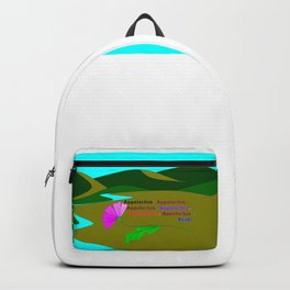 My Colorful and True Ode to Beautiful Appalachia! Backpack