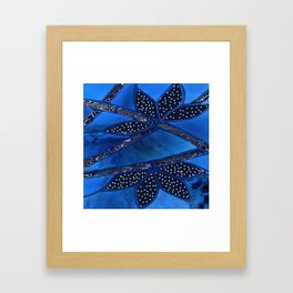 branches and leaves Framed Art Print