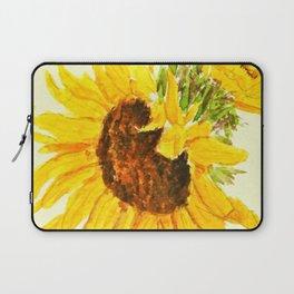 sunflower macro Laptop Sleeve