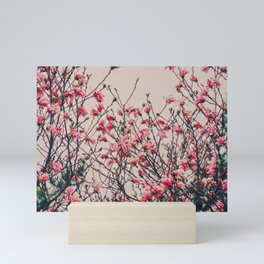 Retro Magnolia Mini Art Print
