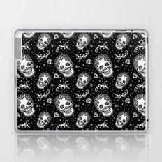 Dark Iris Sugar Skull Laptop & iPad Skin