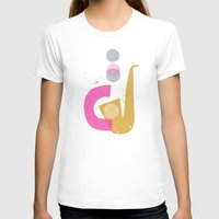 funky T-shirts featuring funky jazz by ottomanbrim