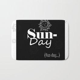 Sunday Bath Mat