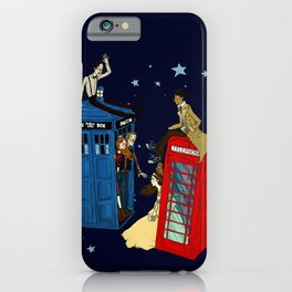 Inspector Who iPhone Case