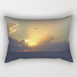 Sunset, Amalphi coast, Italy 2 Rectangular Pillow