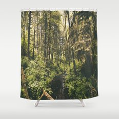 Forest XIV Shower Curtain