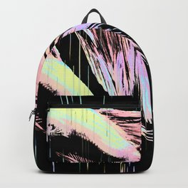 Pastel Siamese Fighting Fish In Electro Synchronicity Backpack