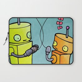 Robot - On A String Laptop Sleeve
