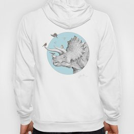 Triceratops and Birdies Hoody