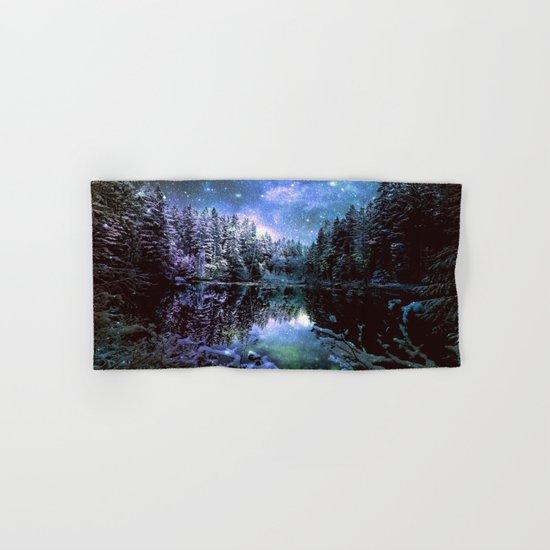 Mystical Winter Forest Hand & Bath Towel