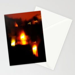Ophiuchus; Festival Fire. Stationery Cards