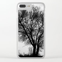 Nature shape Clear iPhone Case