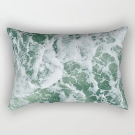 Rough Seas Rectangular Pillow