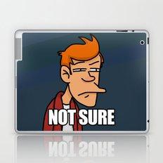 Fry is not sure Laptop & iPad Skin