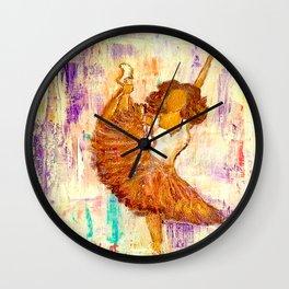 Ballerina No.1 (Tribute to Misty Copeland) Wall Clock
