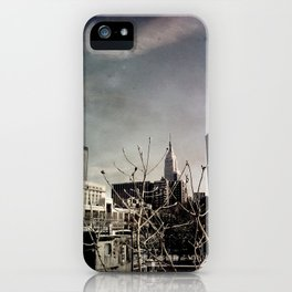 Winter Chill in the City iPhone Case