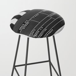 Film Movie Video production Clapper board Bar Stool